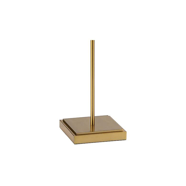 Regina Andrew Design Jasmine Natural Brass Pink Floor Lamp more views