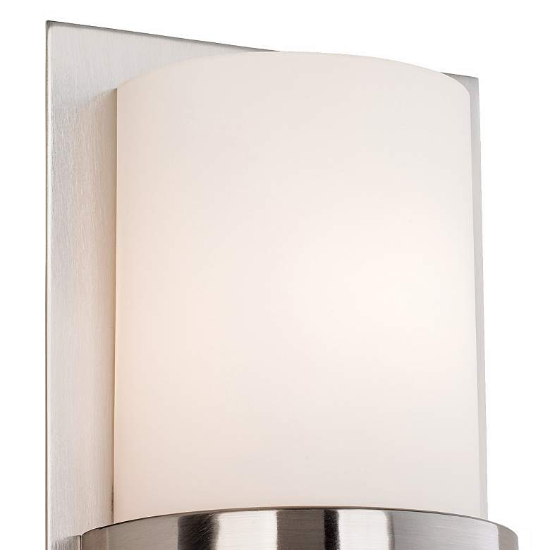 "Minka Lavery Contemporary 10""H Brushed Nickel Wall Sconce more views"