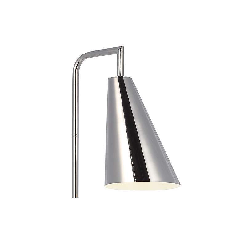 Ellen DeGeneres Collection Jamie Polished Nickel LED Floor Lamp more views
