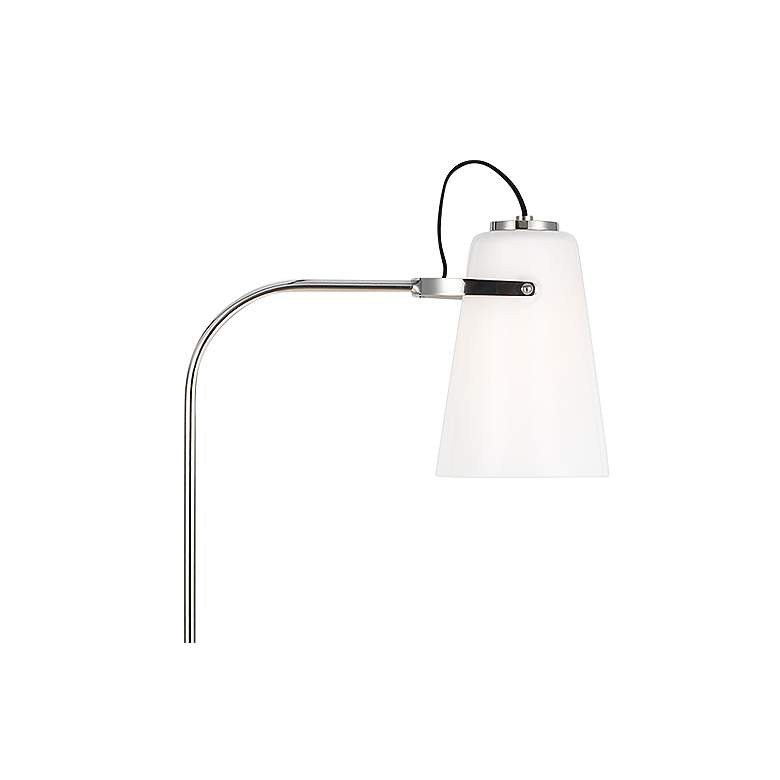Hazel Polished Nickel LED Floor Lamp by Ralph Lauren more views