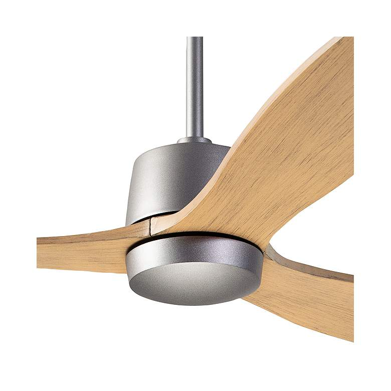 "54"" Modern Fan Arbor Graphite and Maple Damp Rated Ceiling Fan more views"