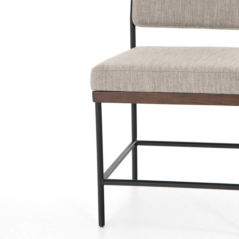 Benton Modern Savile Iron Dining Chair more views