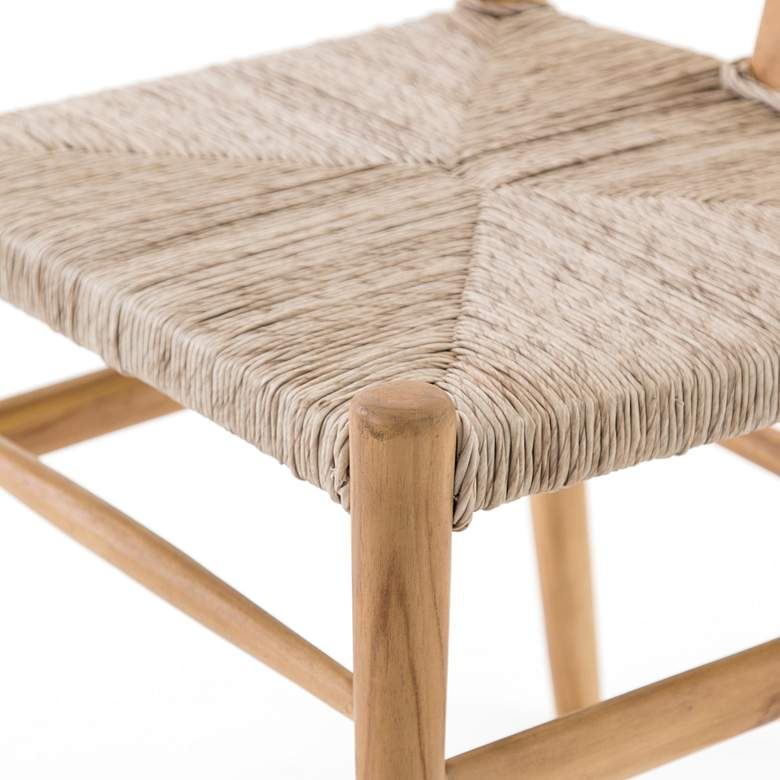 Muestra Rustic Natural Teak Dining Chair more views