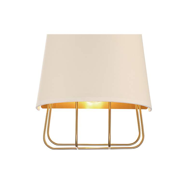"Eurofase Tura 16"" High Brass Wall Sconce more views"