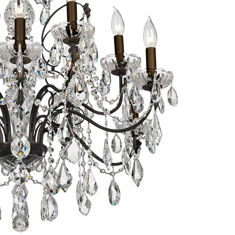 "Schonbek Century Collection 30"" Wide Crystal Chandelier more views"