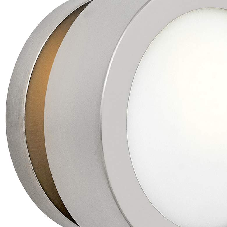 "Hinkley Mercer 6 3/4"" High Brushed Nickel Wall Sconce more views"