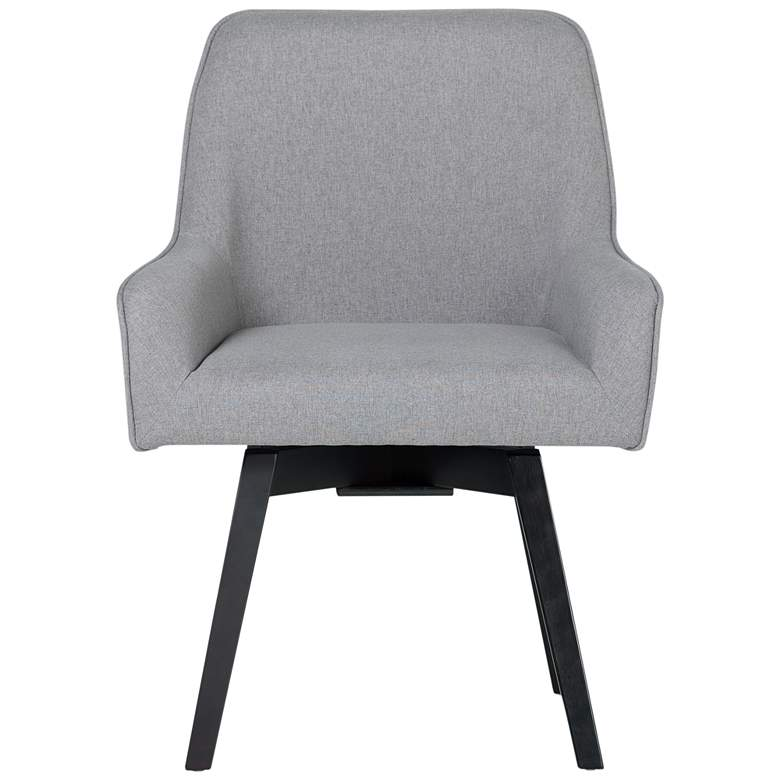 Spire Heather Gray Fabric Swivel Task Chair more views