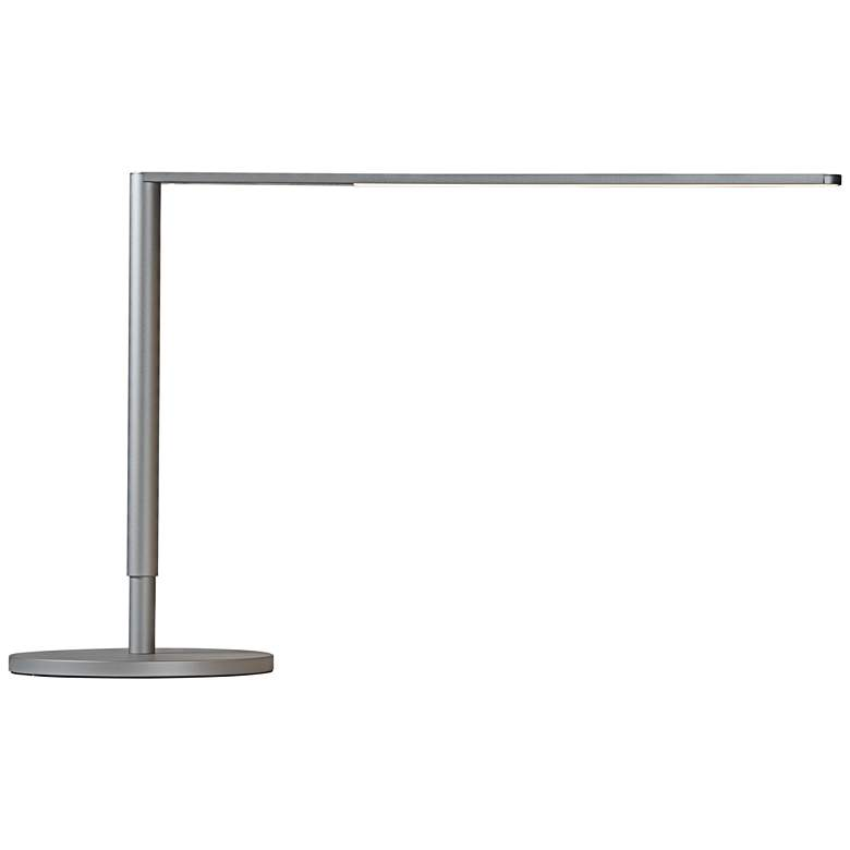 Koncept Lady-7 Silver LED Desk Lamp with USB Port more views