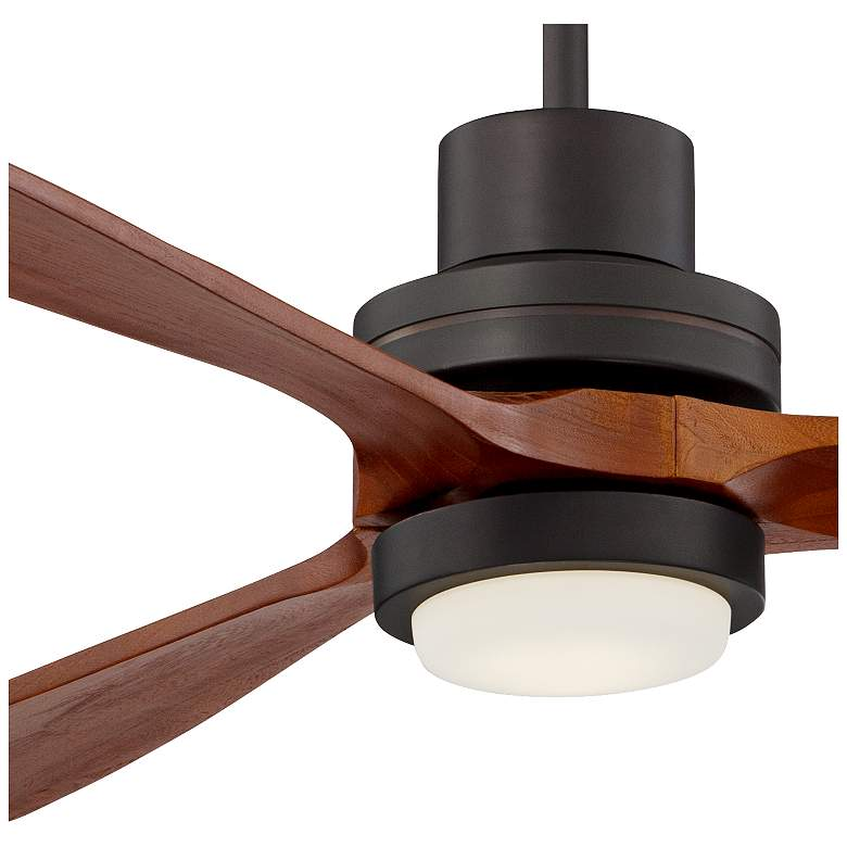 "66"" Casa Delta-Wing XL™ Bronze LED Ceiling Fan more views"