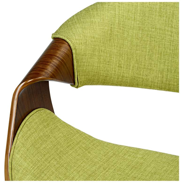Butterfly Green Fabric Side Chair more views