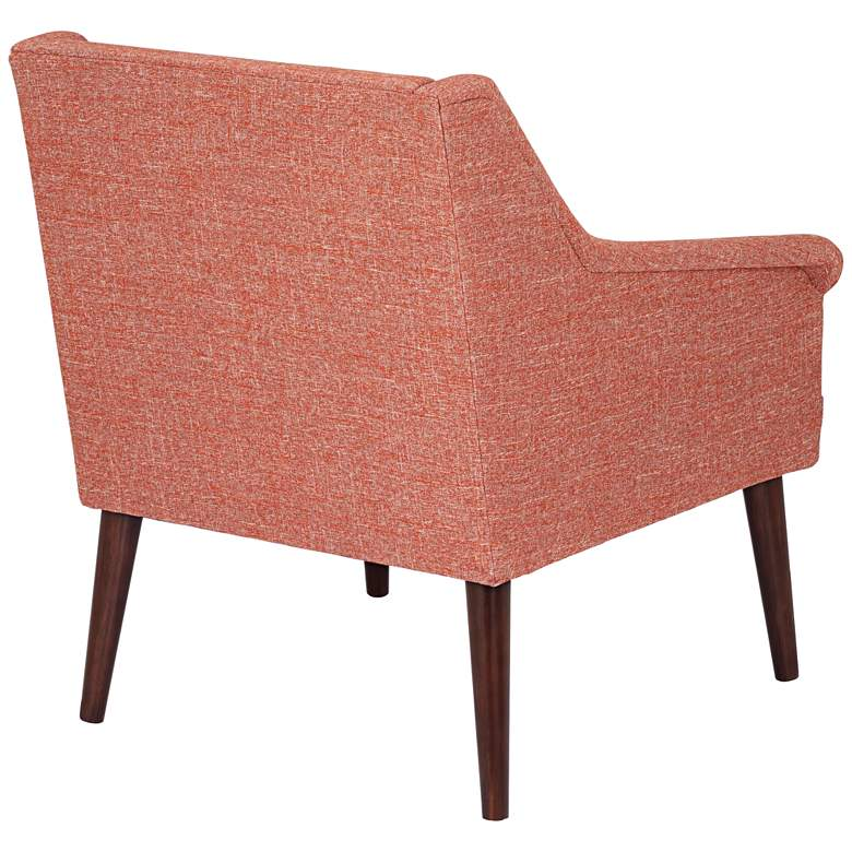 Timmons Hartley Guava Tufted Armchair more views
