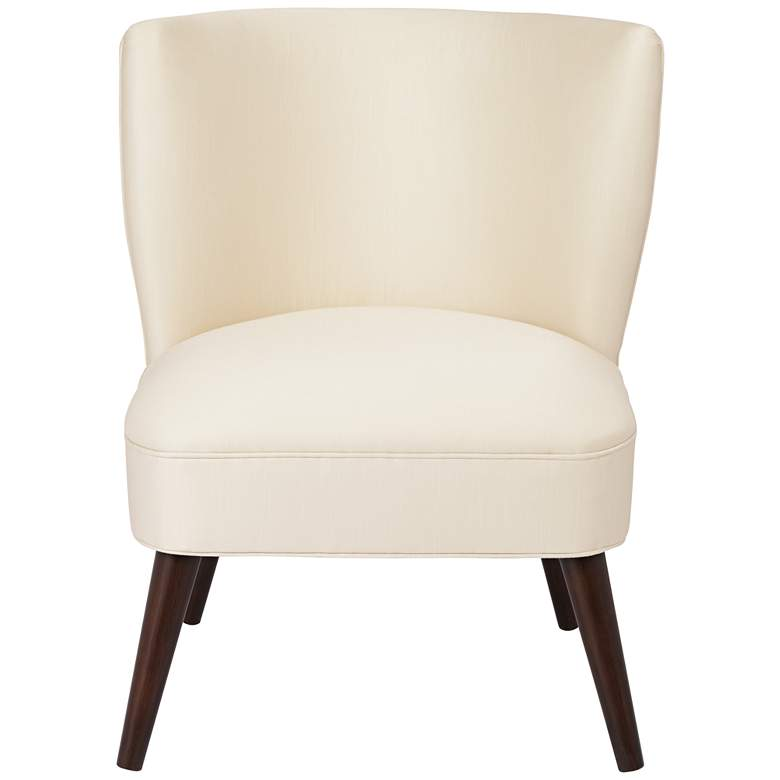Terrific Chablis Shantung Parchment Modern Pleated Chair Uwap Interior Chair Design Uwaporg