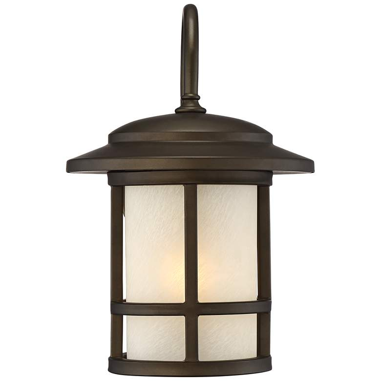 "Cressona 12"" High Oil-Rubbed Bronze Outdoor Wall Light more views"