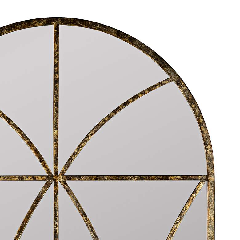 "Jarmo Aged Gold 31 1/2"" x 59"" Decorative Wall Mirror more views"