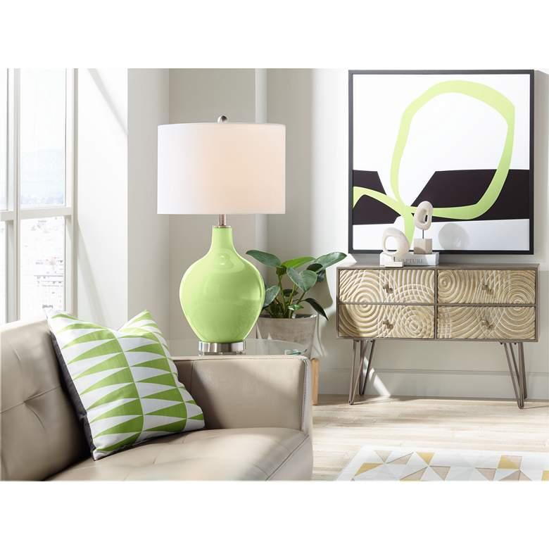 Lime Rickey Ovo Table Lamp more views