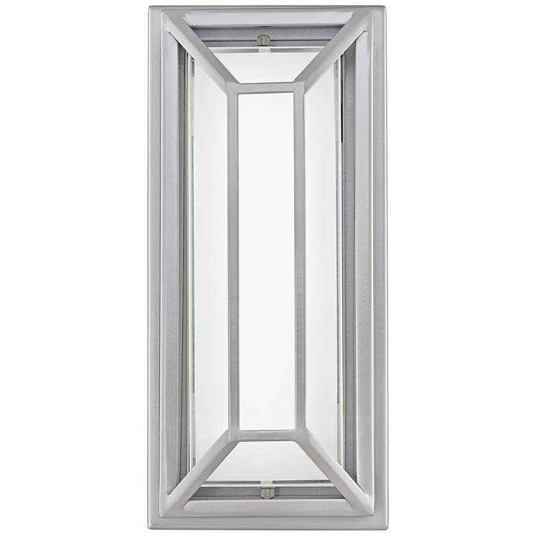 "Radcliffe 12"" High Matte Nickel LED Outdoor Wall Light more views"