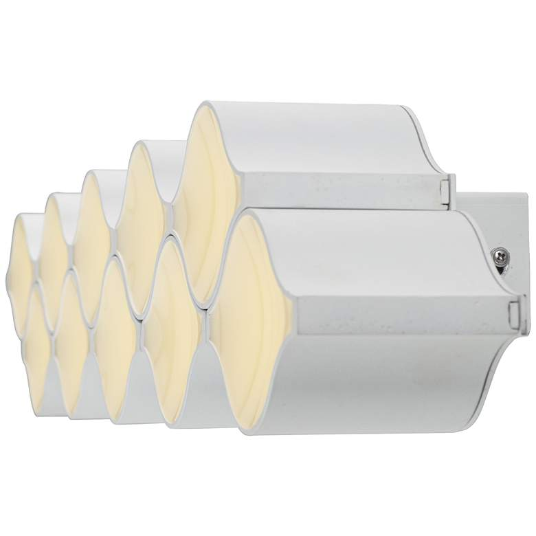 "ET2 Billow 35 1/4"" Wide Matte White LED Ceiling Light more views"