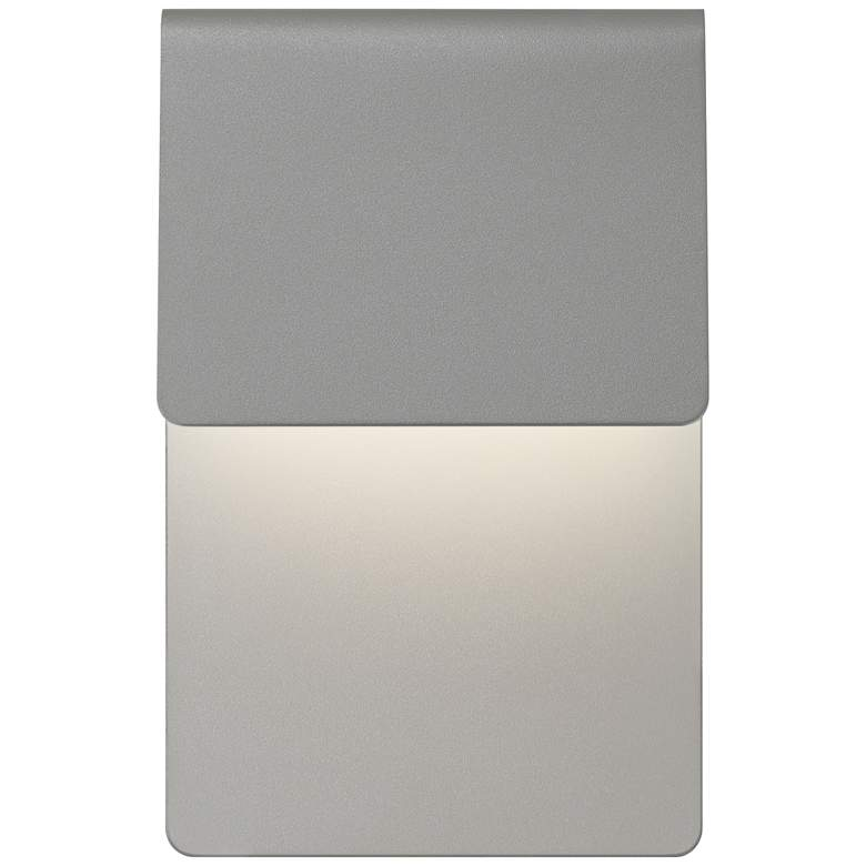 "Sonneman Ply 11""H Textured Gray LED Outdoor Wall Light more views"