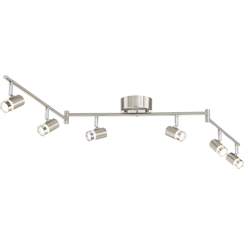 Pro Track® Max 6-Light Satin Nickel LED Track Fixture more views