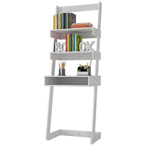 Urbane Carpina White Ladder Desk