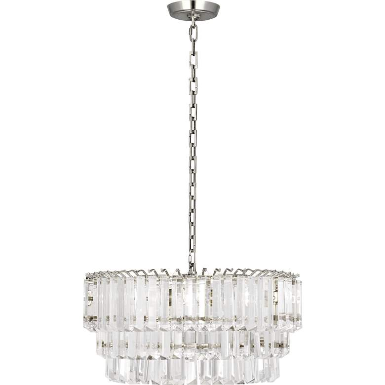 "Robert Abbey Spectrum 20""W Polished Nickel Medium Chandelier more views"