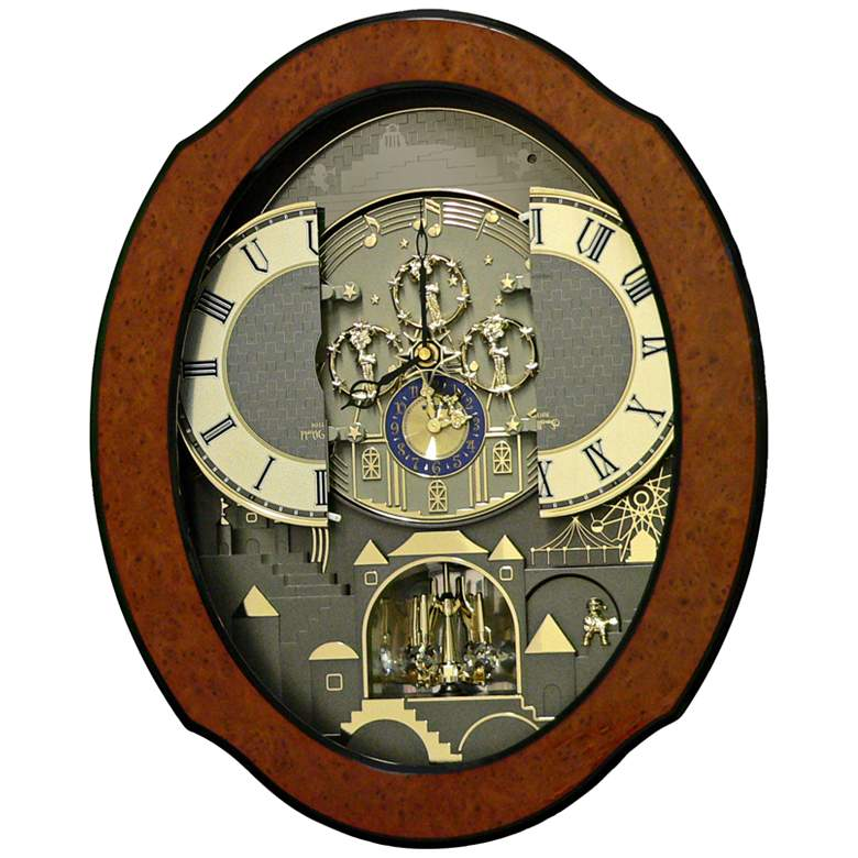"Timecracker Ultra II 20 1/2"" High Musical Motion Wall Clock more views"