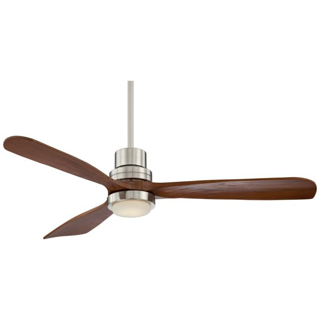"52"" Casa Delta-Wing™ Brushed Nickel LED Ceiling Fan"
