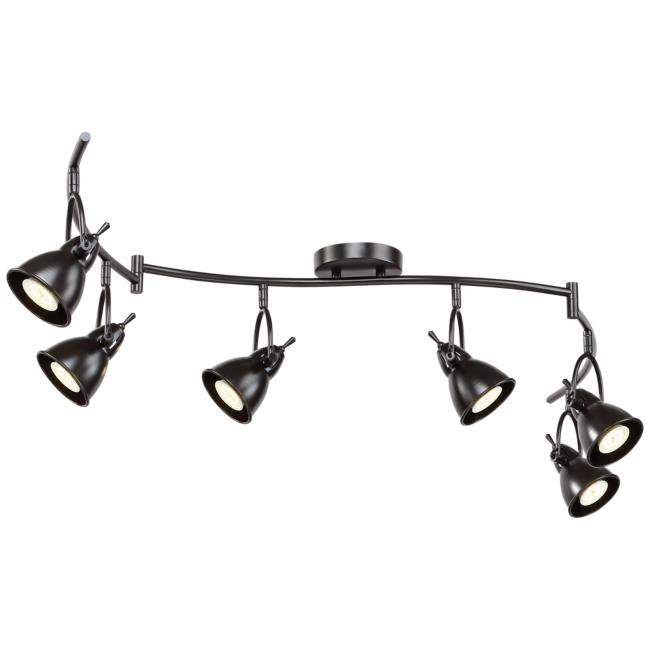 Pro Track® Thorndale 6-Light Bronze LED Track Kit Fixture