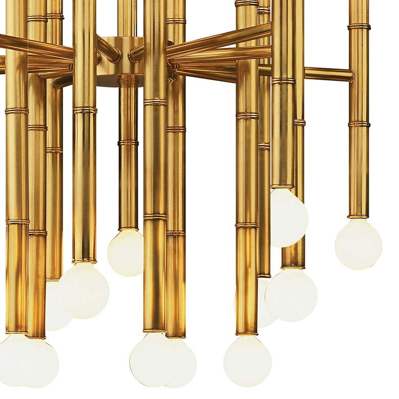 Jonathan Adler Meurice Collection 30-Light Brass Chandelier more views