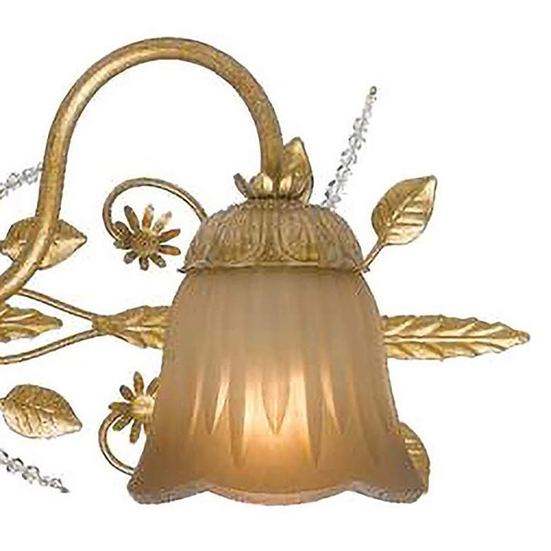 "Primrose Collection Gold 24"" Wide Bathroom Light Fixture more views"