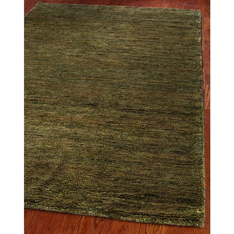 Bohemian Collection Eco and Friendly Jute 5'x8' Sage Area Rug more views