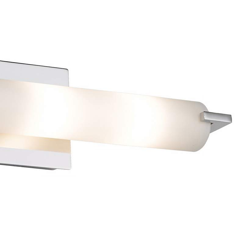 "George Kovacs Chrome 20 1/2"" Wide ADA Bathroom Light more views"