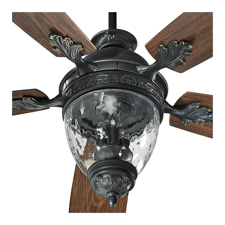 "52"" Quorum Georgia Old World Patio Ceiling Fan more views"