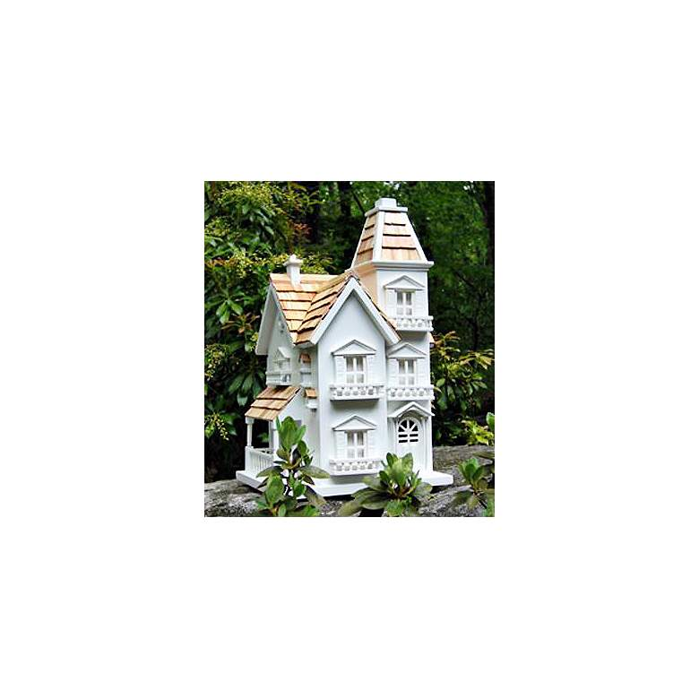 Victorian Cedar Roof Bird House more views