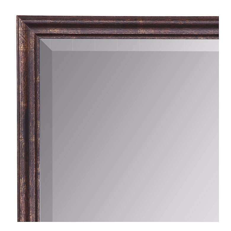 "Uttermost Renzo Bronze 20"" x 32"" Vanity Wall Mirror more views"
