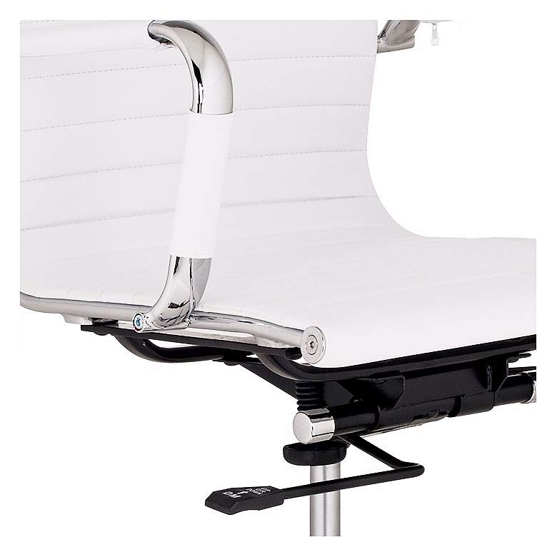 Serge White High Back Swivel Office Chair more views