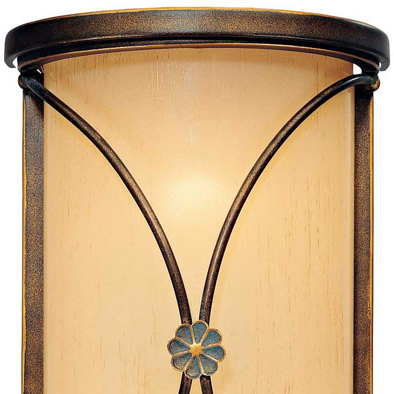 "Atterbury Collection 12"" High Deep Bronze Wall Sconce more views"