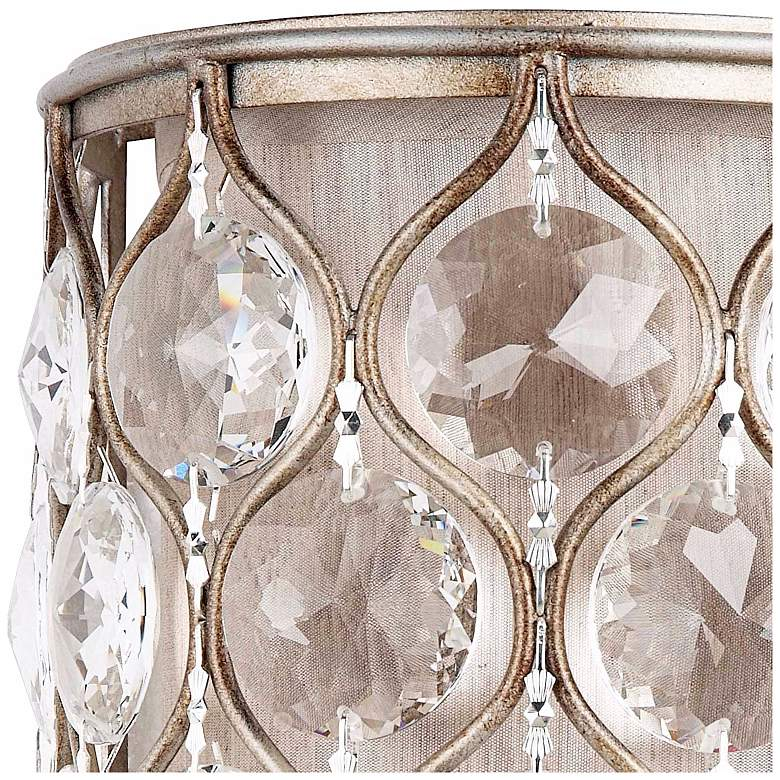 "Feiss Lucia Collection 8"" High Crystal Wall Sconce more views"