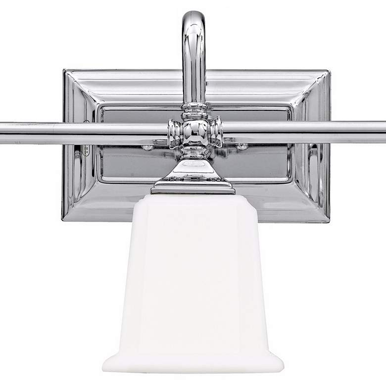 "Nicholas Collection Polished Chrome 22"" Wide Bathroom Light more views"