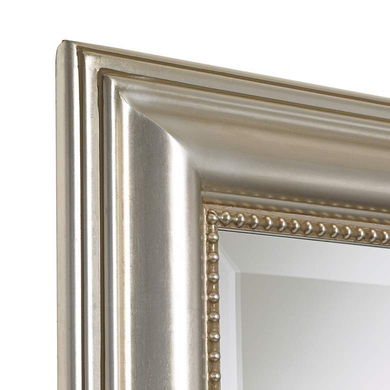 "Stuart Silver Leaf 26 3/4"" x 36 3/4"" Wall Mirror more views"