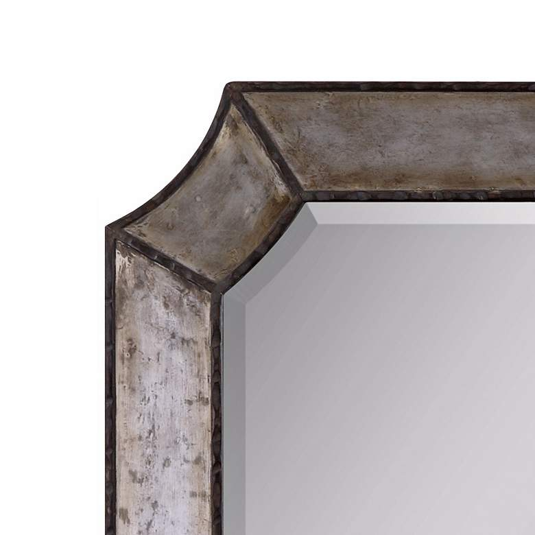 "Elliot 32"" x 24"" Antique Aluminum Wall Mirror more views"
