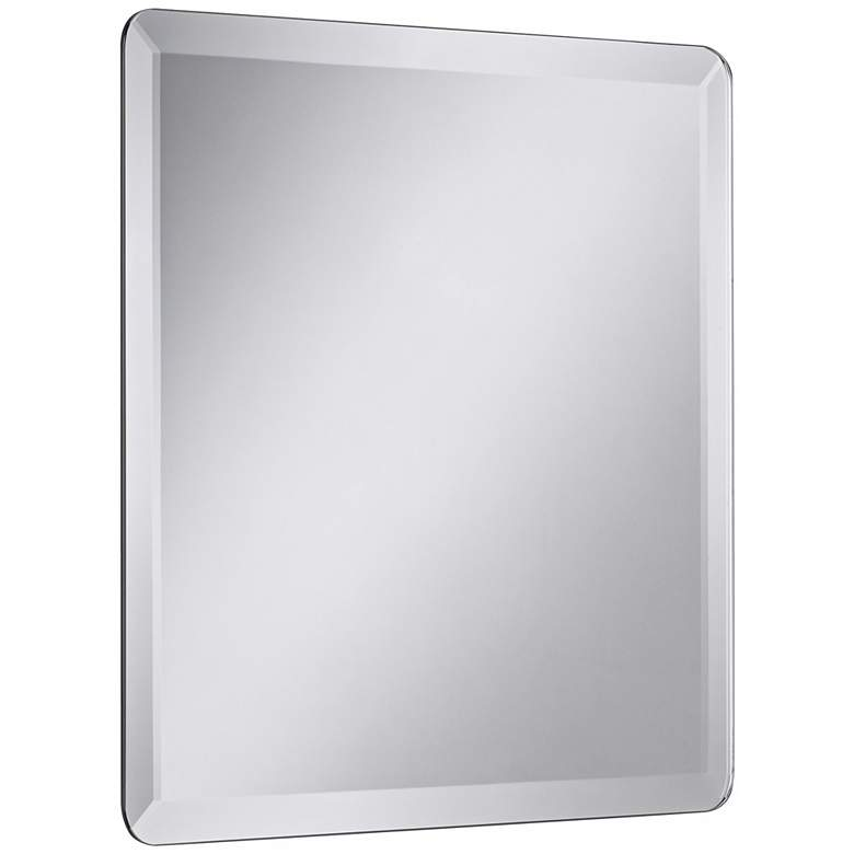"Square Frameless 30"" Square Beveled Wall Mirror more views"