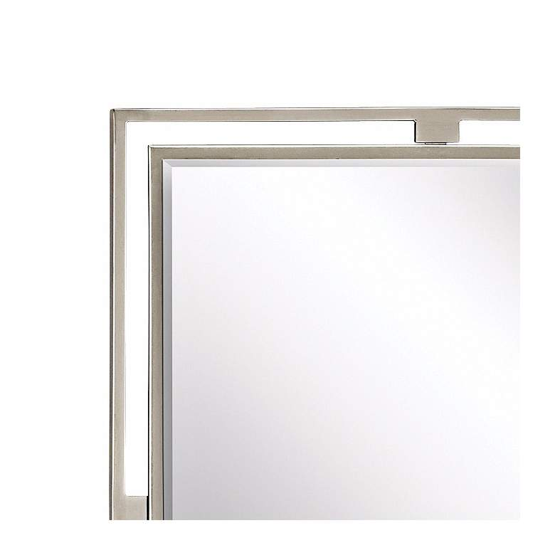 "Kichler Hendrik Brushed Nickel 24"" x 30"" Wall Mirror more views"