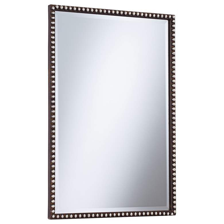 "Uttermost Tempe Rusty Brown 22"" x 32"" Wall Mirror more views"