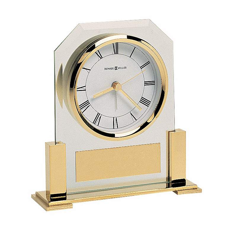 "Howard Miller Paramount 5 3/4"" High Tabletop Alarm Clock more views"