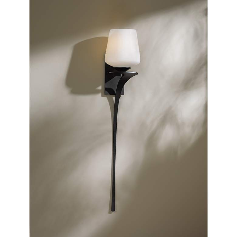 "Antasia Frost Right 26 1/2"" High Wall Sconce more views"