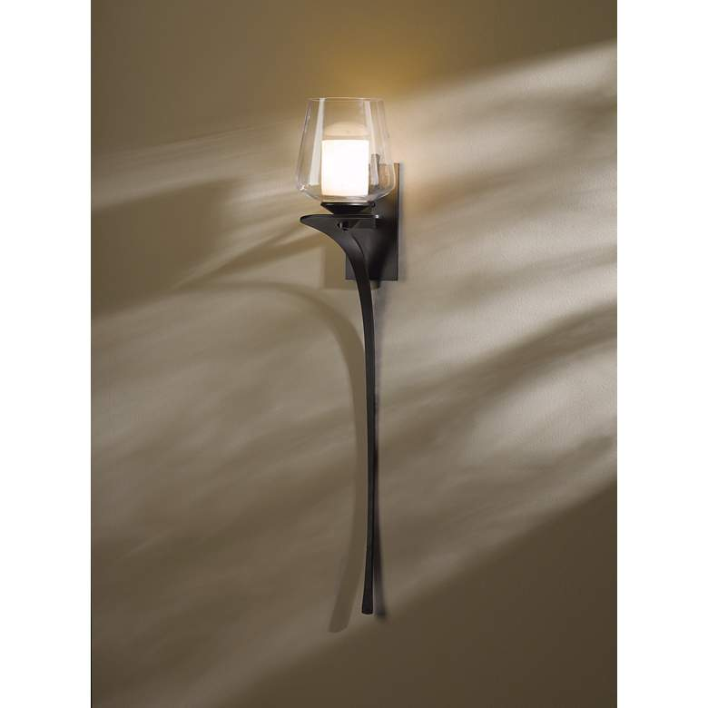 "Hubbardton Forge Antasia Smoke Left 26 1/2"" High Wall Sconce more views"