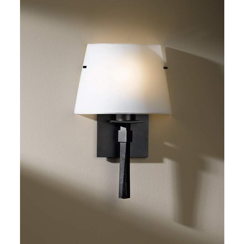 Hubbardton Forge Beacon Hall Opal Glass Wall Sconce more views
