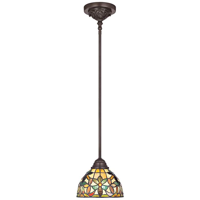 Quoizel Kami Tiffany-Style Mini Pendant Light more views