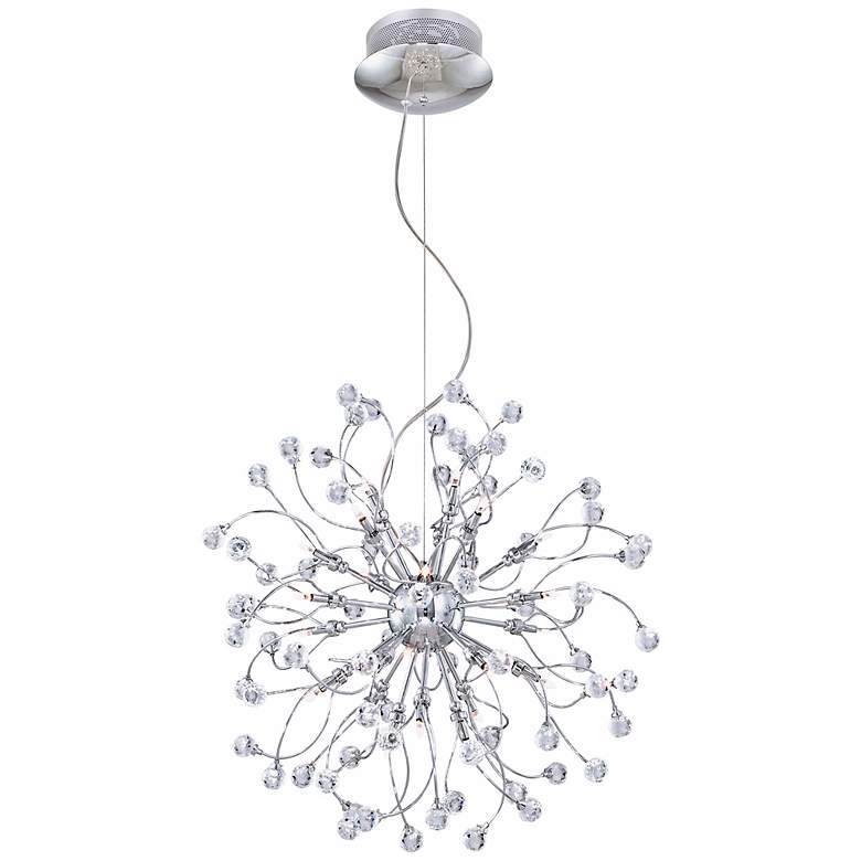 Possini Euro Crystal Fizz 24-Light Contemporary Pendant more views